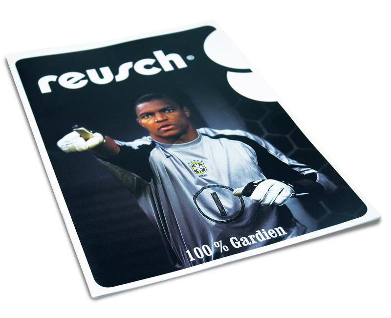 création et mise en page du catalogue Reusch