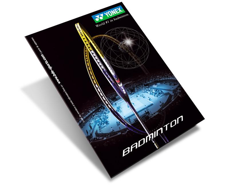 création catalogue Yonex
