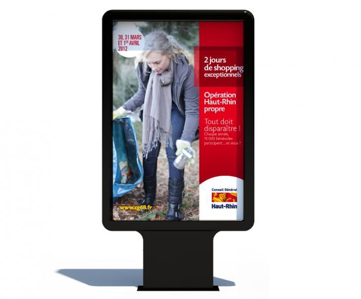 Création d'une campagne publicitaire Alsace