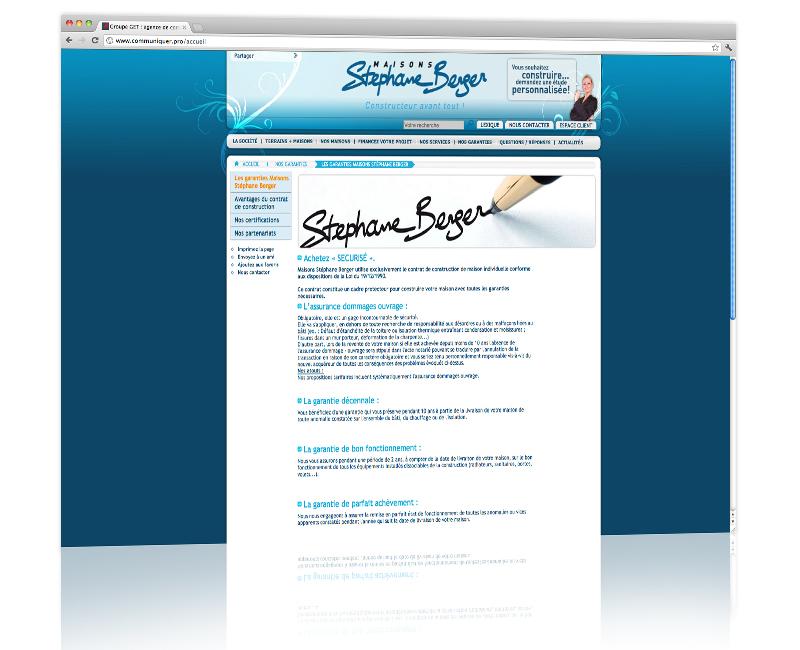 PROSPECTIV* - Agence communication - web agency Alsace - Création graphique du site internet et développement 2