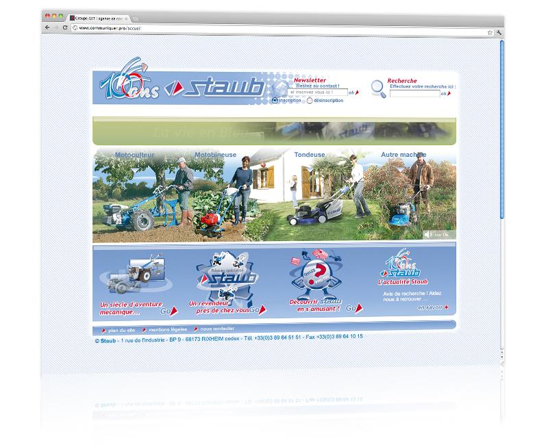 Création et hébergement du site internet de l'entreprise - Mulhouse