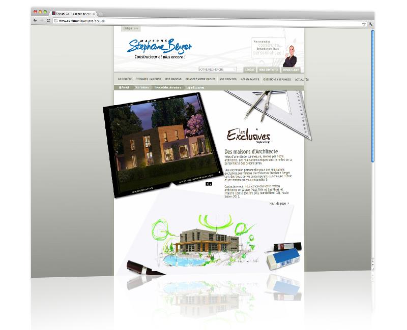 PROSPECTIV* - Agence communication - web agency Alsace - Création graphique du site internet et développement 3