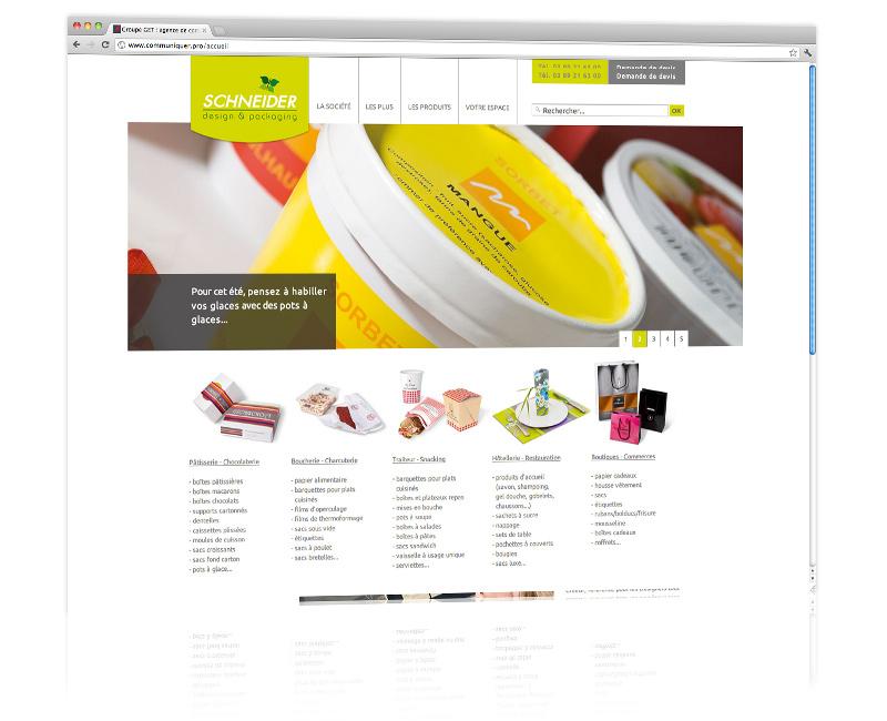Agence web Colmar - Création et hébergement du site internet vitrine