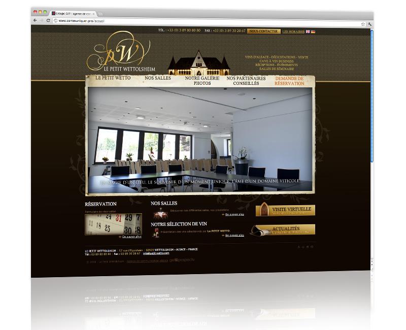 PROSPECTIV* - Agence communication - web agency Colmar - Création, développement et hébergement du site internet
