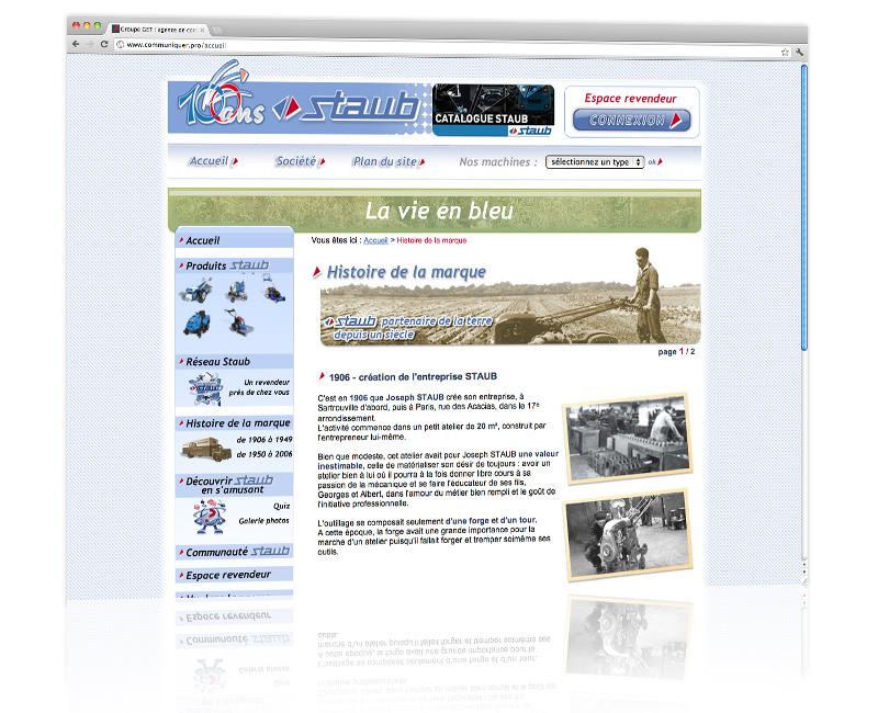 Création et hébergement du site internet de l'entreprise - Mulhouse 2