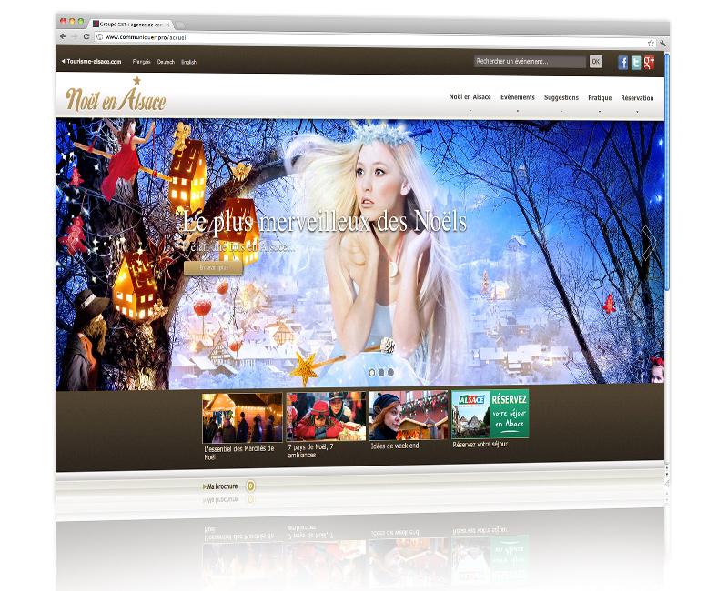 Agence web Alsace - Création du internet Noël en Alsace