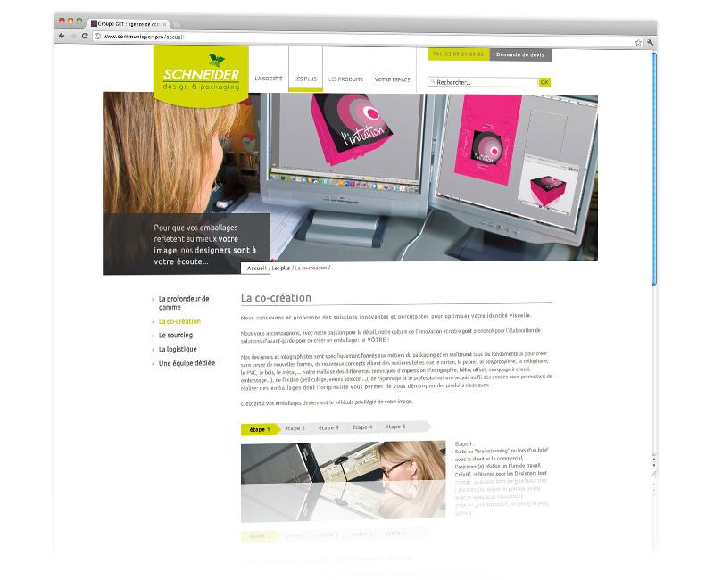 Agence web Colmar - Création et hébergement du site internet vitrine 2