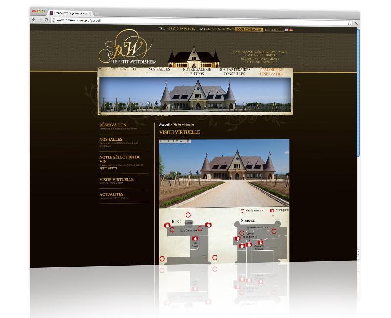 PROSPECTIV* - Agence communication - web agency Colmar - Création, développement et hébergement du site internet 2