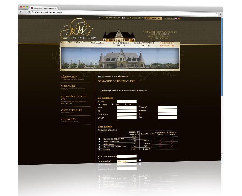 PROSPECTIV* - Agence communication - web agency Colmar - Création, développement et hébergement du site internet 3