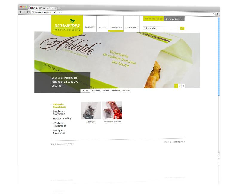 Agence web Colmar - Création et hébergement du site internet vitrine 3