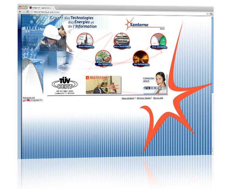 Conception et hébergement du site internet vitrine strasbourg