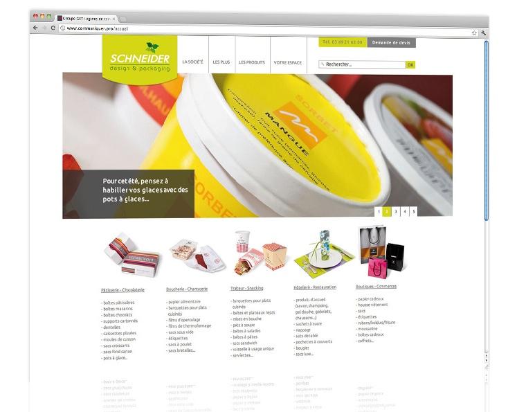 Schneider emballages : Des produits qui nous emballent !
