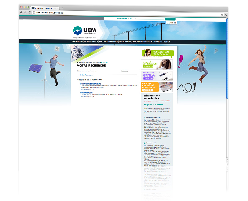 Création site internet Colmar 2