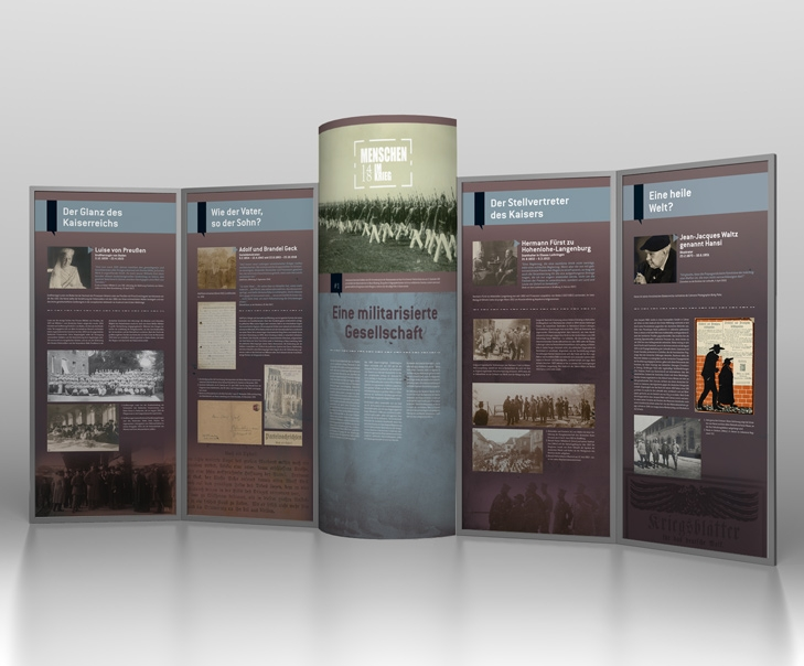 Création et fabrication du stand de l'exposition