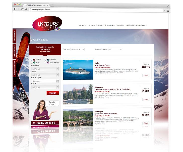 PROSPECTIV* - Création site internet Alsace - LKTOURS 2