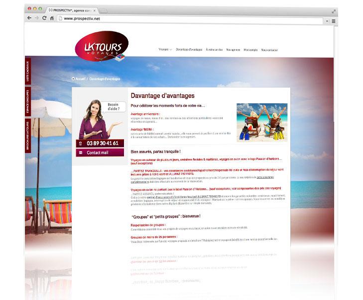 PROSPECTIV* - Création site internet Alsace - LKTOURS 3