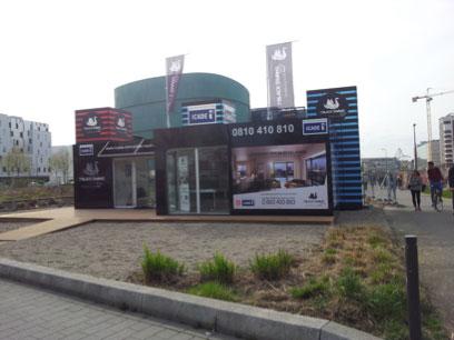 Lancement du programme immobilier icade 3 black swans - Bureau de vente immobilier ...