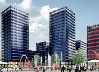 Lancement du programme immobilier Icade 3 Black Swans à Strasbourg
