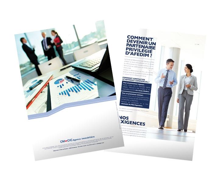 Agence communication Mulhouse Colmar Strasbourg - CM CIC Afedim 2