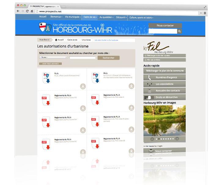 Création site internet - Colmar - Haut-Rhin - Alsace - Horbourg-Wihr 1