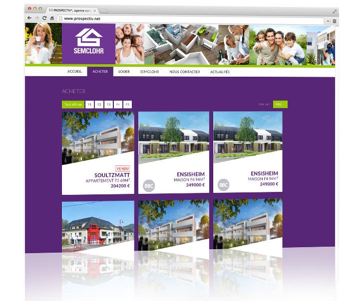 Création site internet - Alsace - Semclohr 2