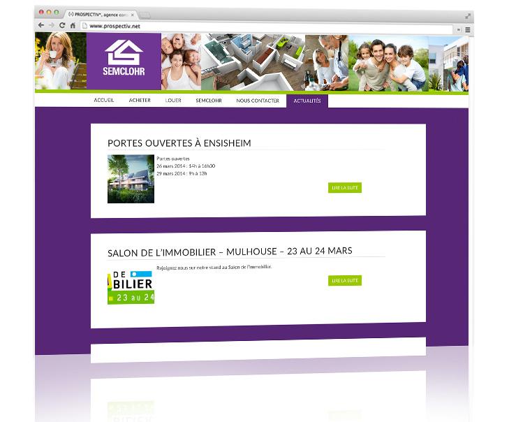 Création site internet - Alsace - Semclohr 3