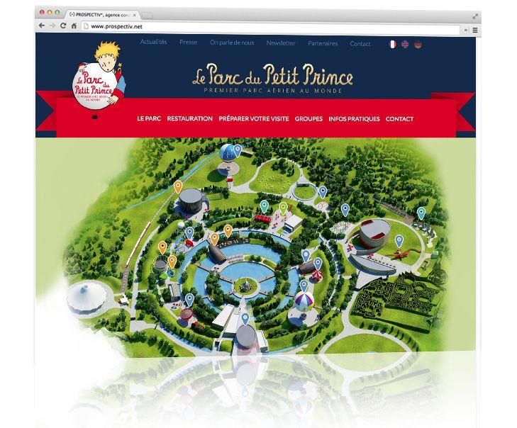 Parc du Petit Prince - Création site internet 3