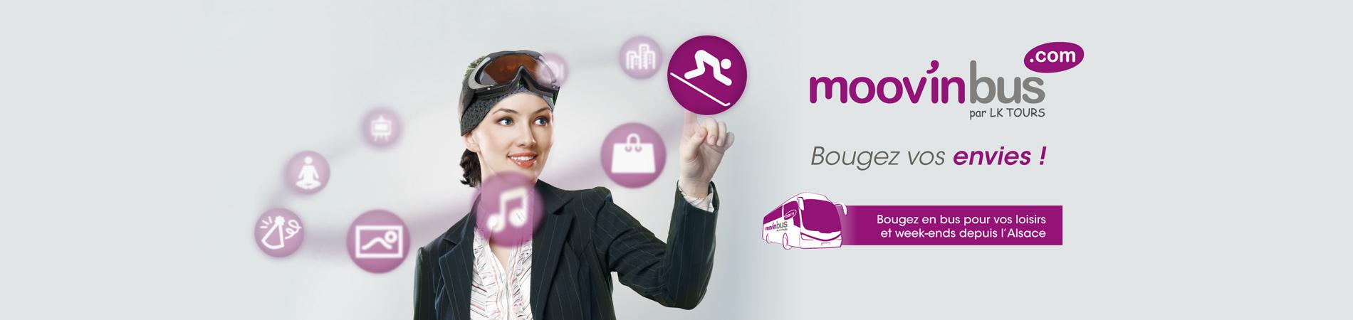 Mov'inbus.com - Création de l'identité, du concept et du site internet e-commerce