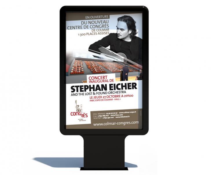 Campagne d'affichage - Mobilier urbain Colmar Eischer