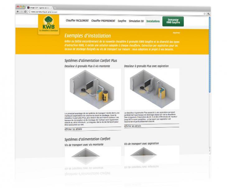 Création et hébergement du site internet dédié produit Alsace 2