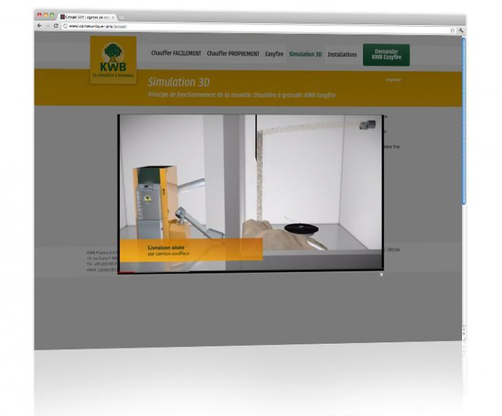 Création et hébergement du site internet dédié produit Alsace 3
