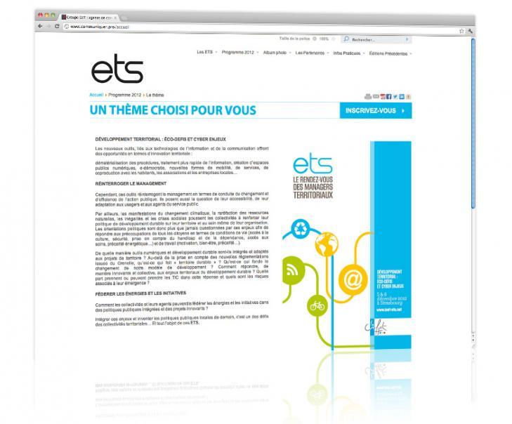 PROSPECTIV* - Agence communication - web agency Alsace - Refonte du site internet des Entretiens territoriaux de Strasbourg 4
