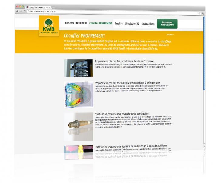 Création et hébergement du site internet dédié produit Alsace 4