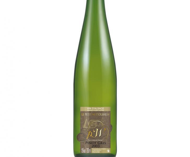 Création habillage bouteille de vin Alsace