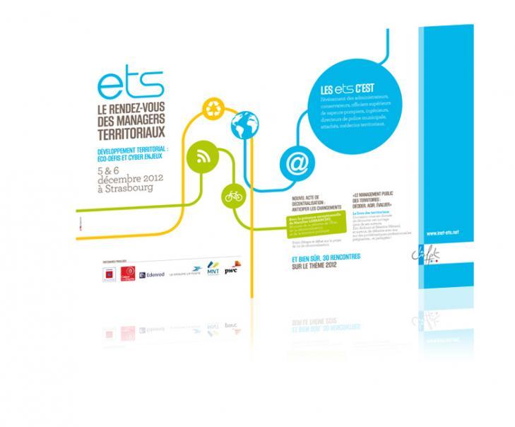 PROSPECTIV* - Agence communication - web agency Alsace - Création de la documentation des Entretiens territoriaux de Strasbourg