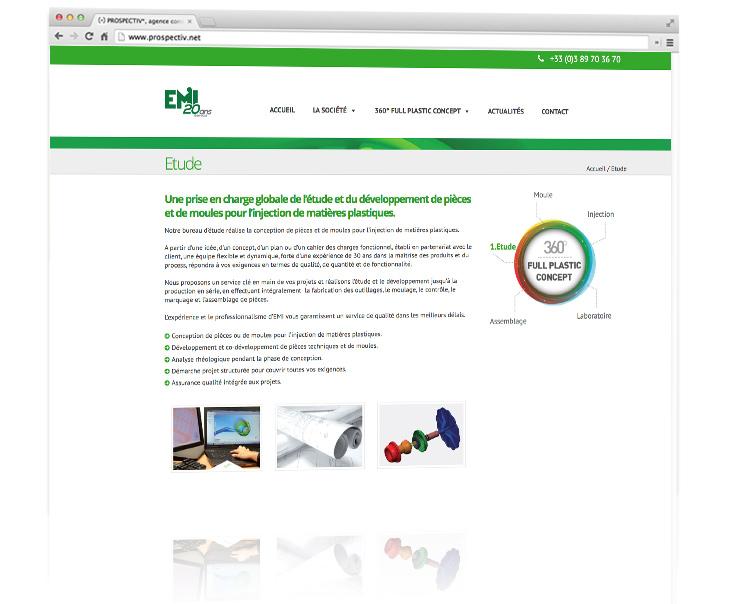 création site internet EMI 3