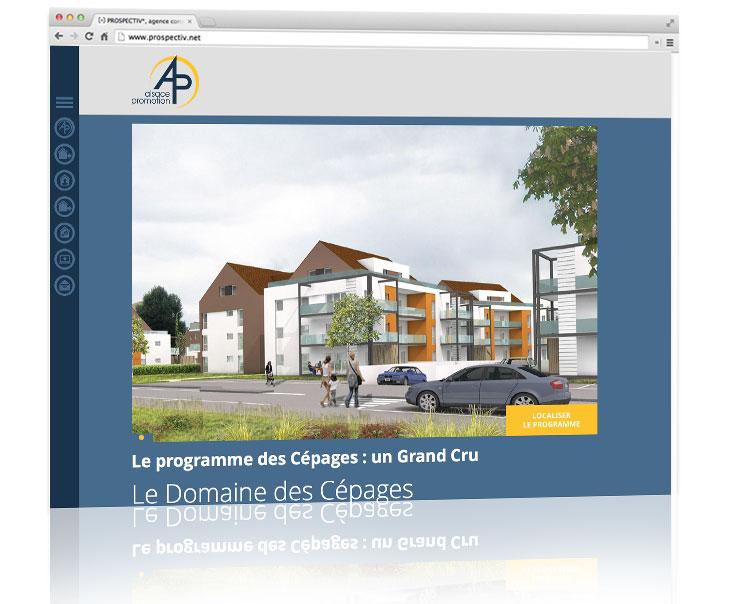 Création site internet immobilier 3