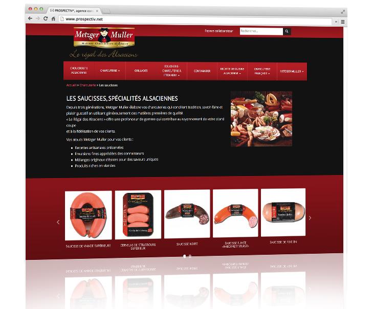 Création site internet Metzler muller 2