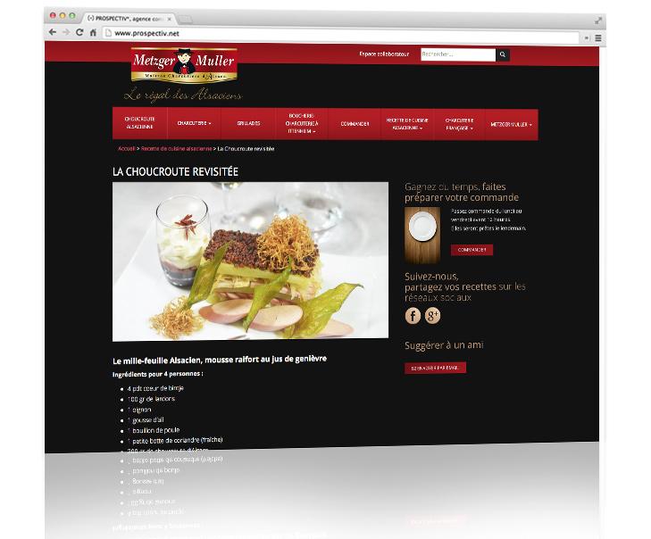 Création site internet Metzler muller 1