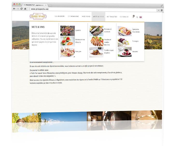 Site e-commerce Pierre Sparr 3