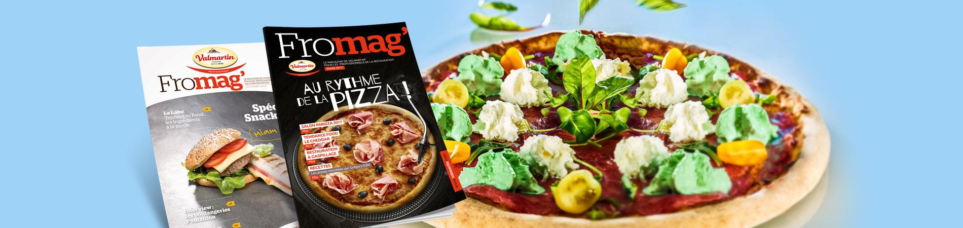 Un magazine pour les professionnels de la restauration par Arla Foods et Valmartin