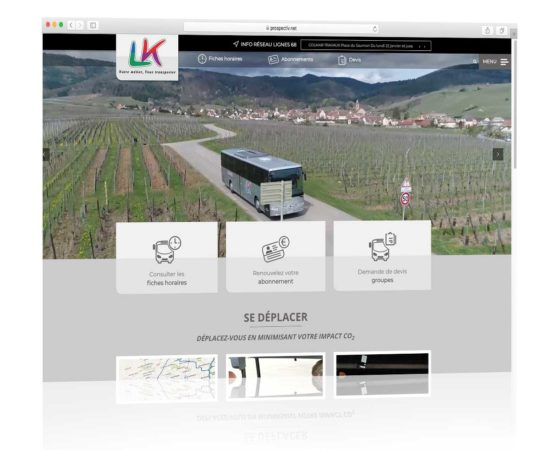 Site internet du groupe LK Kunegel