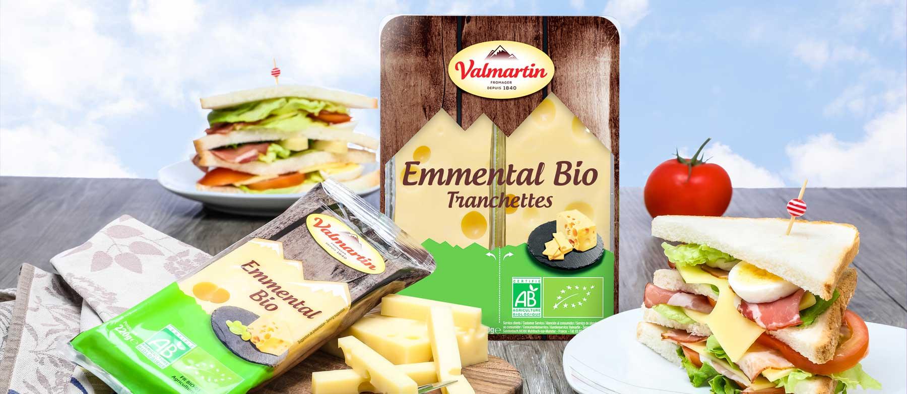 Création de packagings pour Valmartin®