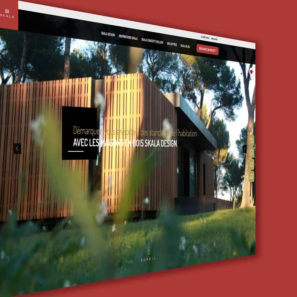 Home page skala design